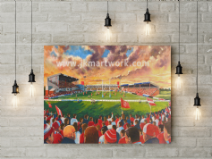 craven park   canvas a3 size